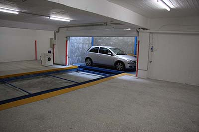 Parking system installation