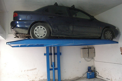 Ceiling mechanical parking system Y1A